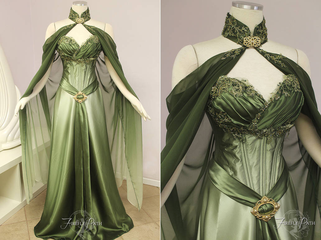b17dbe43c7f Elven Bridal Gown by Firefly-Path on DeviantArt