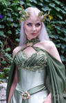 Elven Bridal Gown Model
