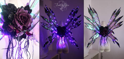 Purple LED Wings
