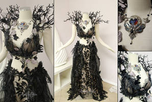 Unseelie Faerie Gown by Firefly-Path