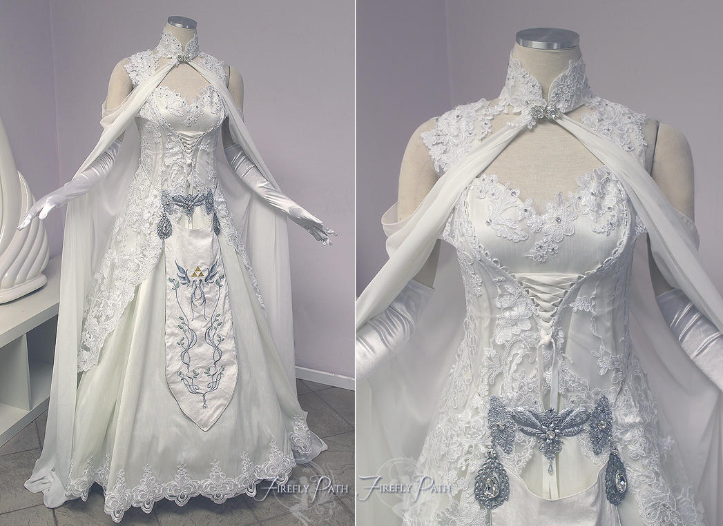 Princess Zelda Wedding Dress by Firefly-Path on DeviantArt