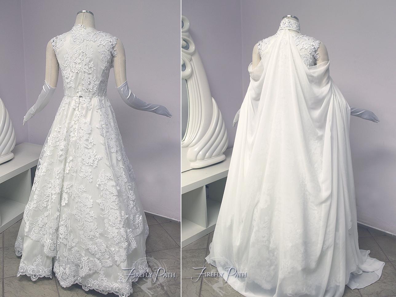 Zelda Wedding Gown Back View