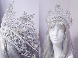Snow Queen Crown by Firefly-Path