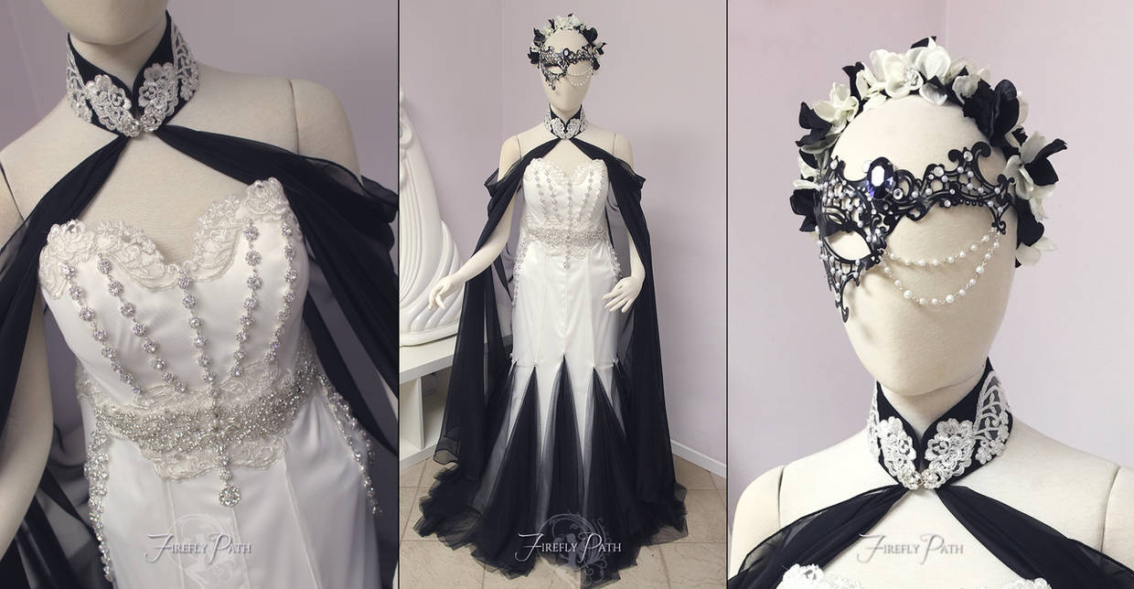 cd8cfcd5ba6f7 Masquerade Themed Bridal Gown~ by Firefly-Path on DeviantArt