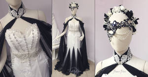 ~Masquerade Themed Bridal Gown~