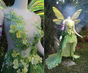 Hannah Alexander Art Nouveau Tinkerbell by Firefly-Path