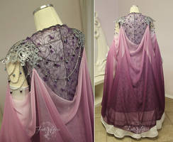 Princess Zelda Bridal Gown Back View