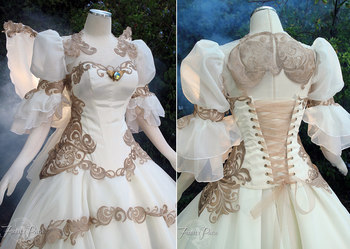 Tsubasa Chronicles Bridal Gown by Firefly Path on DeviantArt