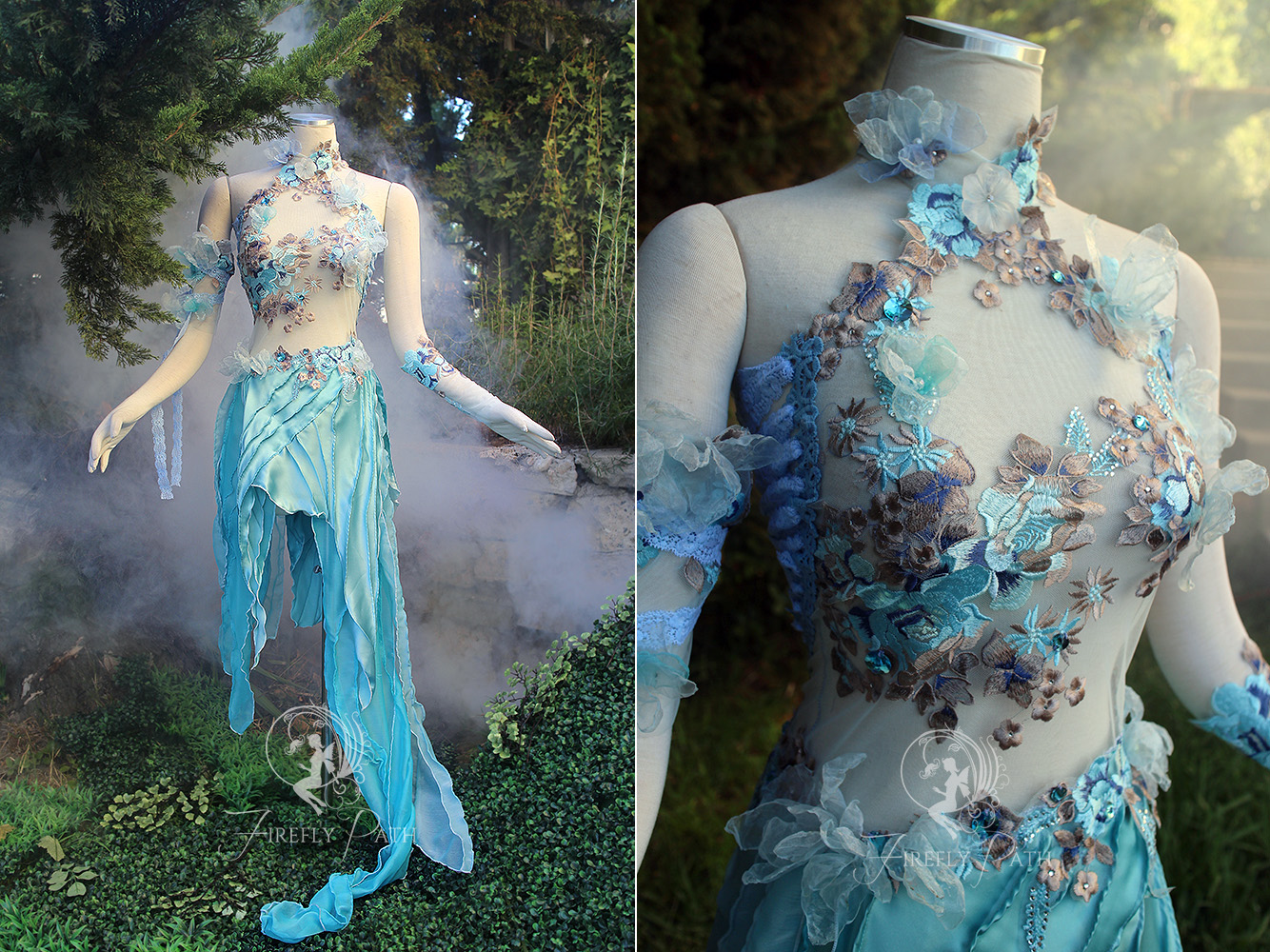 Water Sprite Dress By Firefly Path On Deviantart