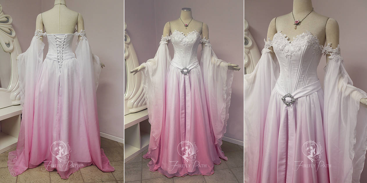 a98fea3413e Sakura Elven Bridal Gown by Firefly-Path on DeviantArt