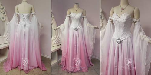 Sakura Elven Bridal Gown