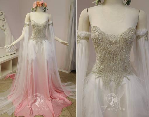 Peachblossom Faerie Gown