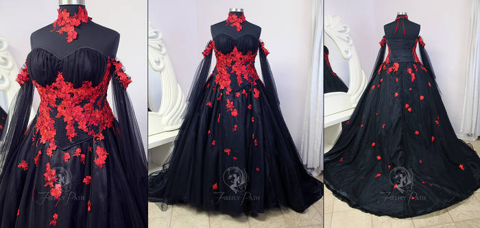 Vampire Bridal Gown