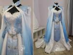 Blue Zelda Bridal Gown