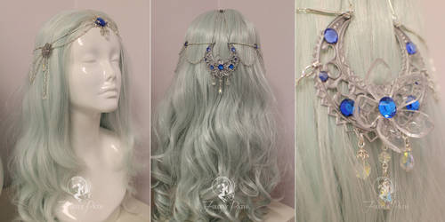 Princess Alyndra Elora Moonflower Circlet by Firefly-Path