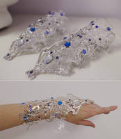 Princess Alyndra Elora Moonflower Gauntlets