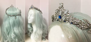 Princess Alyndra Elora Moonflower Crown by Firefly-Path