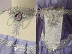 Magic Mirror Gown Details