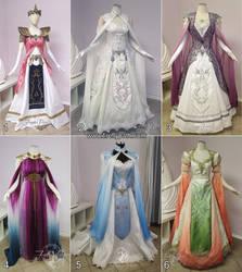 Princess Zelda Fashion by Firefly-Path