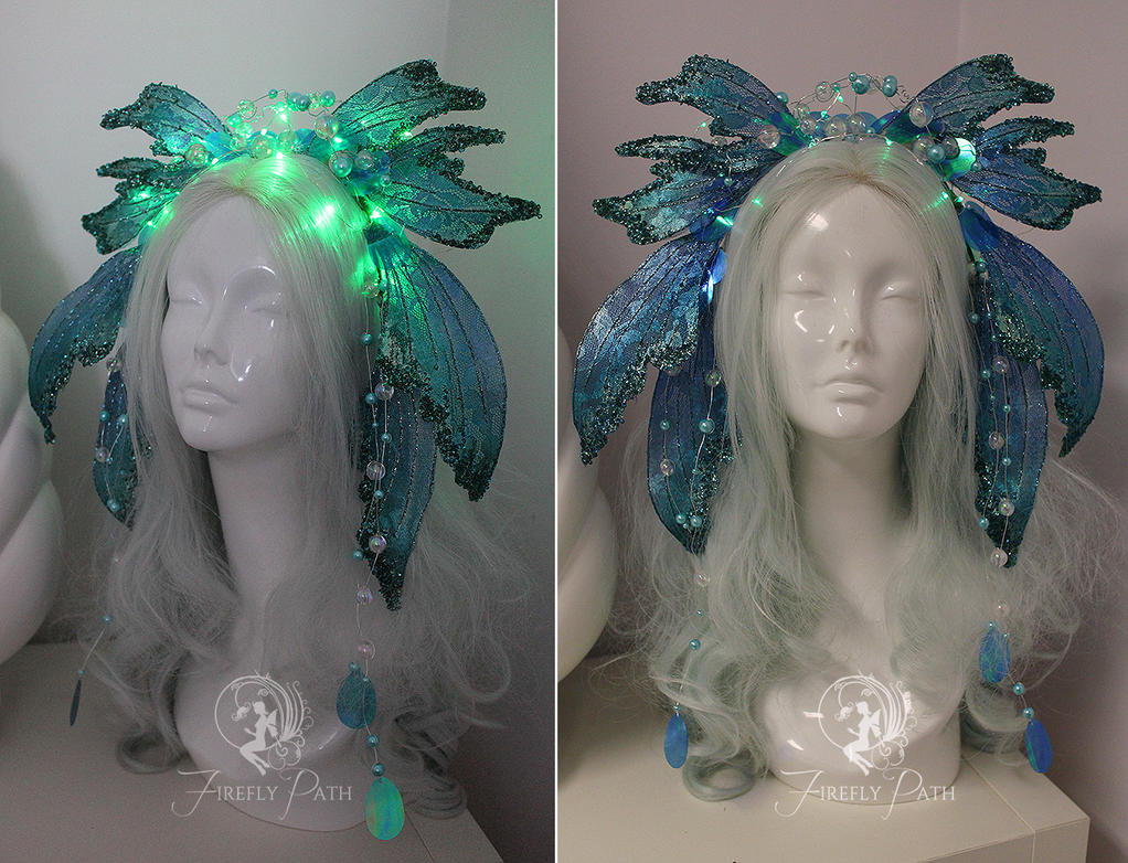Deepsea Siren Headdress by Firefly-Path