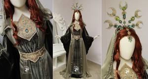 Golden Sage Gown