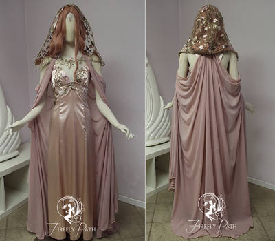 Elven Romance Gown and Cape