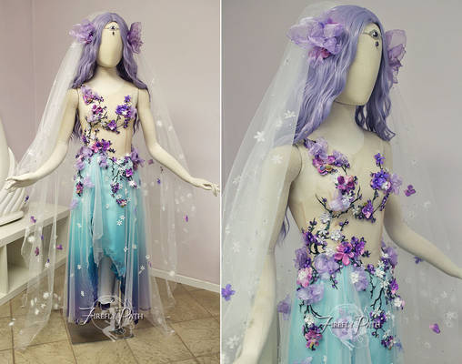 Plum Blossom Bridal Gown
