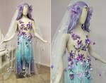 Plum Blossom Bridal Gown
