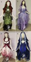 Four Elements Dresses