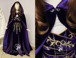 Amythest Orchid Gown Update by Firefly-Path