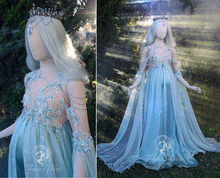 Goddess Maternity Gown by Firefly-Path
