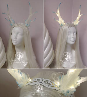 Light up Crystal Antlers Tutorial