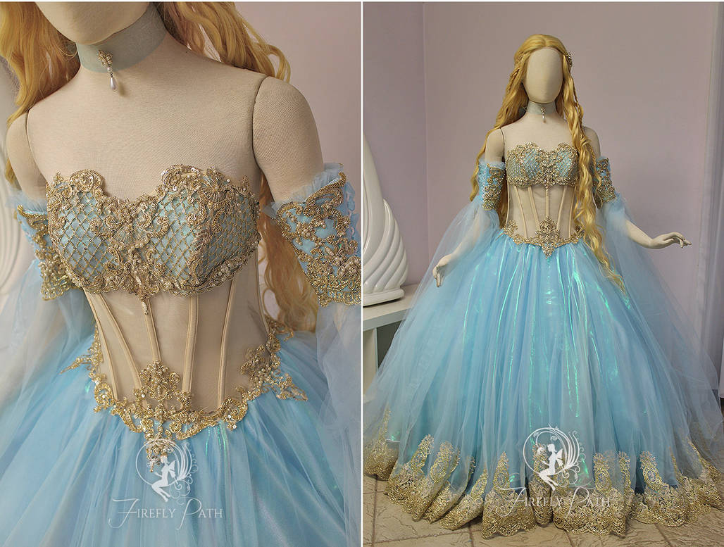 df6252563d Rococo Princess Gown by Firefly-Path on DeviantArt
