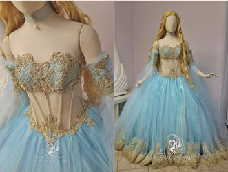 Rococo Princess Gown by Firefly-Path