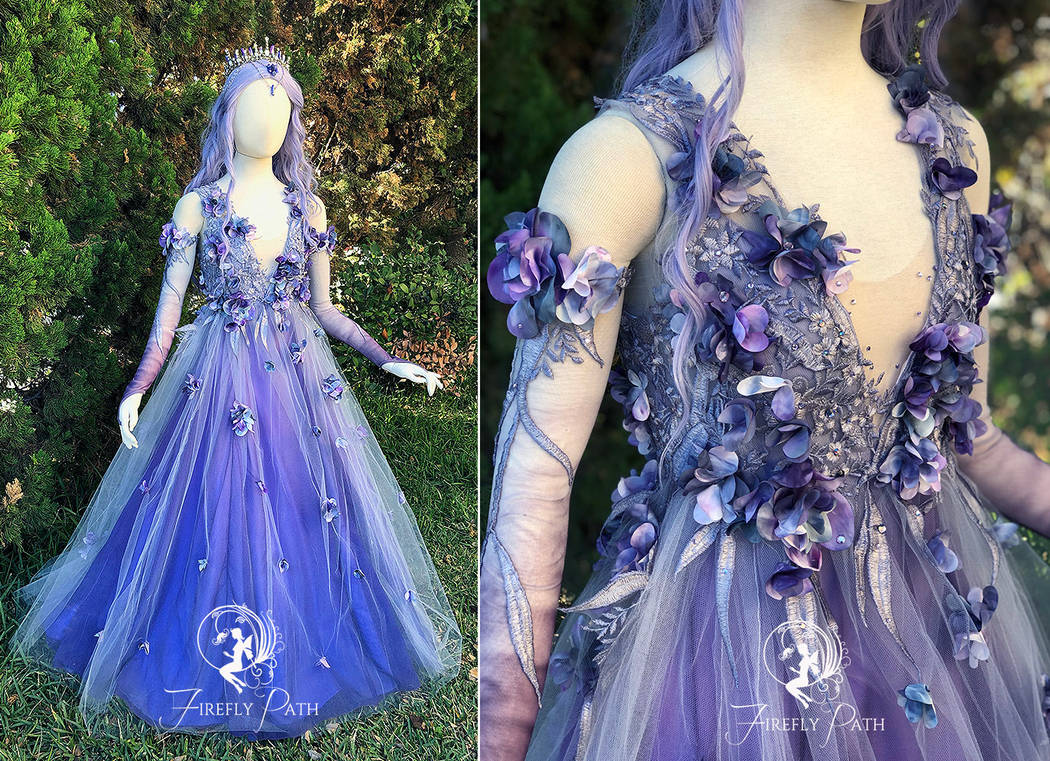 1e48847a86 Dusk Faerie Bridal Gown by Firefly-Path on DeviantArt