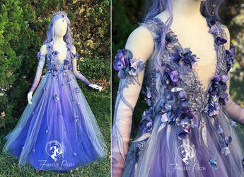Dusk Faerie Bridal Gown by Firefly-Path