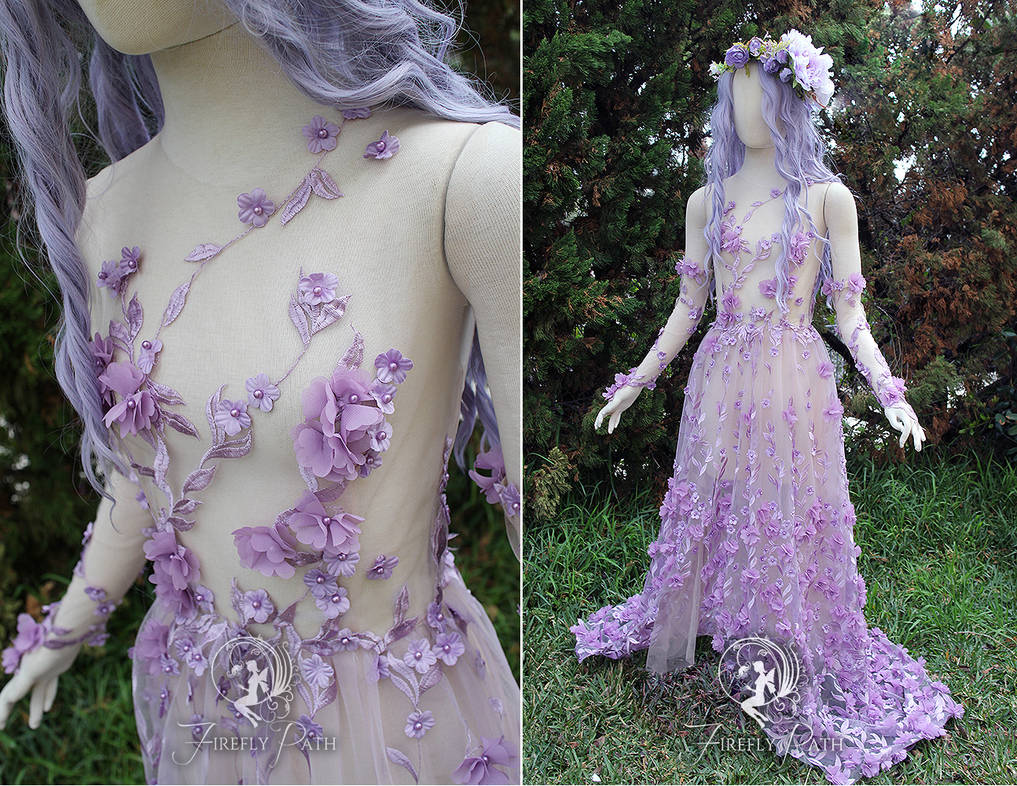 Plumeria Gown