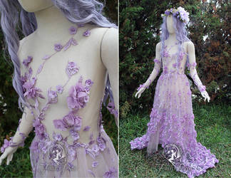 Plumeria Gown by Firefly-Path