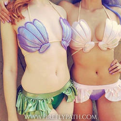 Mermaid Bathing Suit Pattern by Firefly-Path