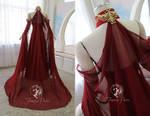 Star Trek Bridal Gown (back view)