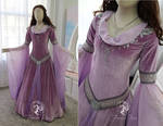 Lilac Medieval Gown