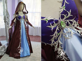 Sylvanas Windrunner Inspired Bridal Gown by Firefly-Path