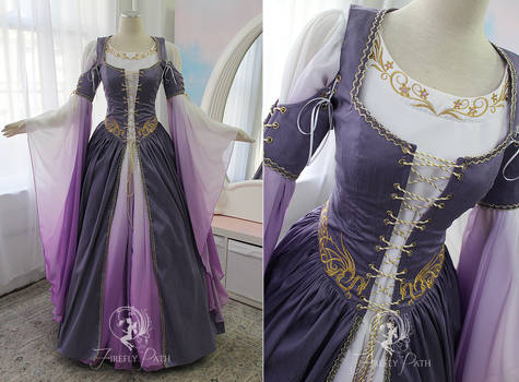 Lilac Dragon Gown