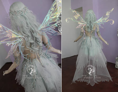 Shattered Frost Gown (back view)