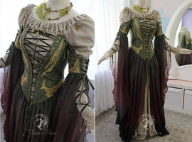 Celtic Sorceress Gown