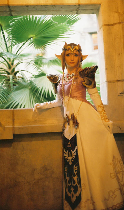 Princess Zelda by Lillyxandra