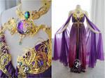 Crystal Amethyst Gown