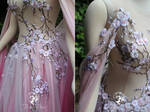 Faerie Blossom Gown Details