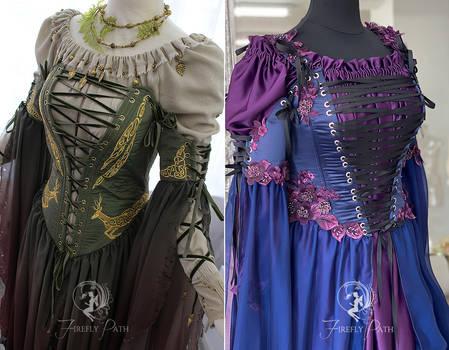 Sorceress Gown Sewing Pattern PDF
