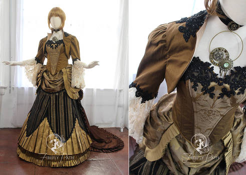 Steampunk Bridal Gown